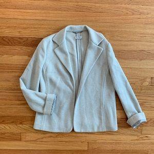 Agnona Textured Cashmere Wool Blazer